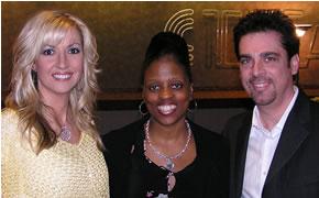 Martha Munizzi, Renee', and Dan Munizzi