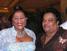 Dottie Peoples w/Brenda Underwood