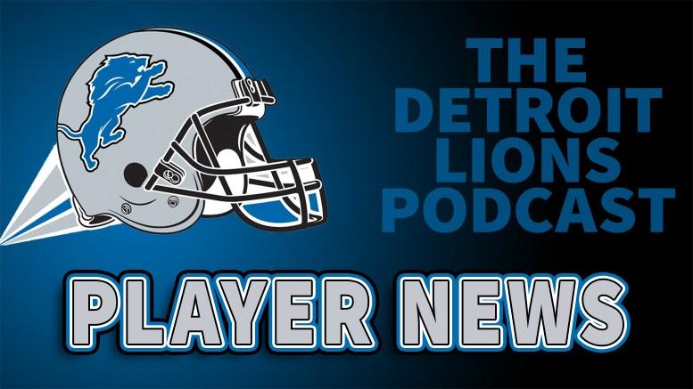 Det4roit Lions - Player News