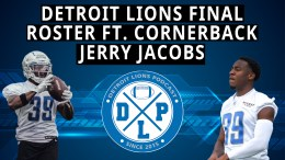 Detroit Lions Podcast - Jerry Jacobs Roster