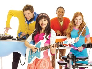 NICKELODEON THE FRESH BEAT BAND