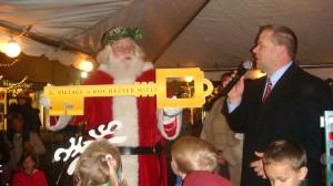 Santa key to city