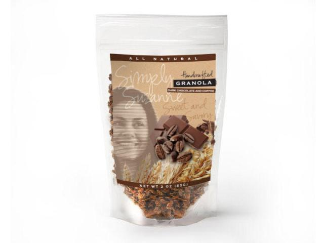 Simply Suzanne Granola is a tasty treat.