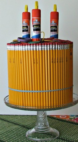 pencil cake