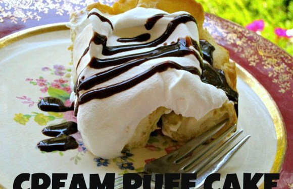 Special Occasion Cream Puff Cake Recipe