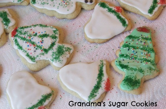 Easy Christmas Sugar Cookie Recipe