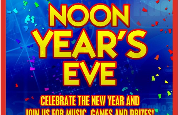 "Radio Disney ""Noon Year's Eve"" Event for Kids and Families: December 31"