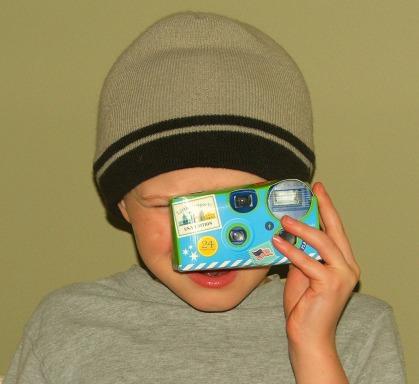 Little Passports Disposable Camera
