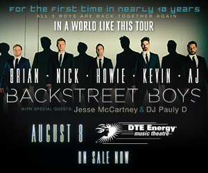 Win Tickets to the Backstreet Boys Concert!