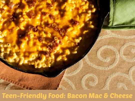 delicious Bacon Mac and Cheese
