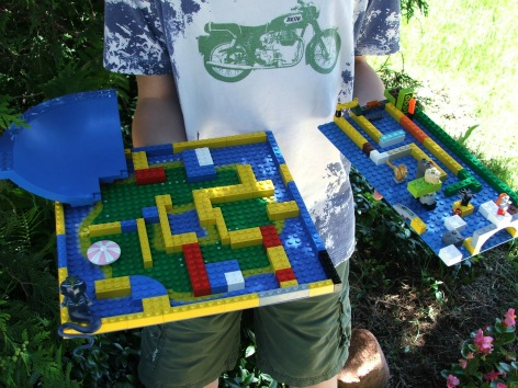 Make Your Own Lego Marble Maze