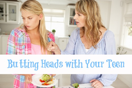 Butting Heads with Your Teen
