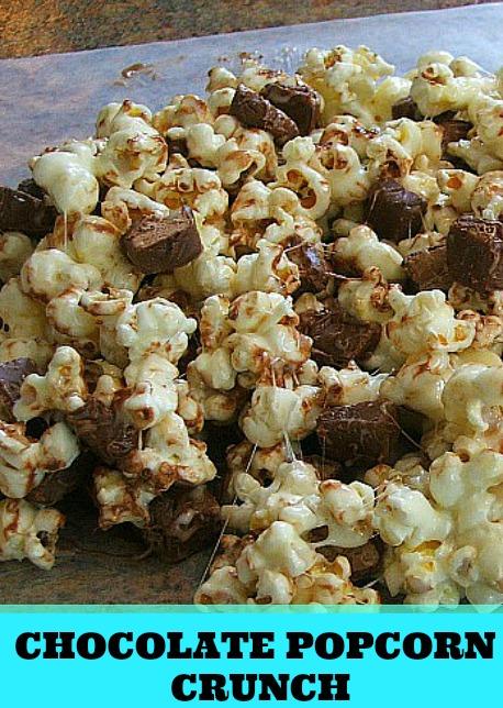 Chocolate Popcorn Crunch with 3 Musketeer Bites #eatmorebites #shop #cbias