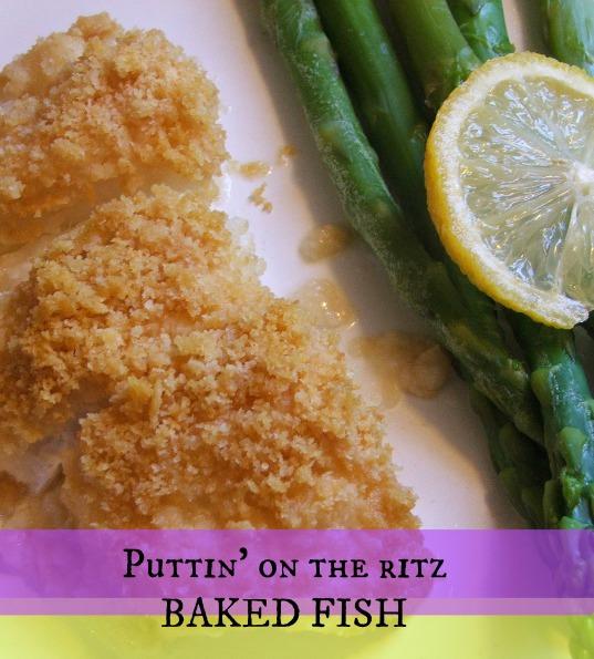 Puttin' on the Ritz Fish - 4 Ingredients