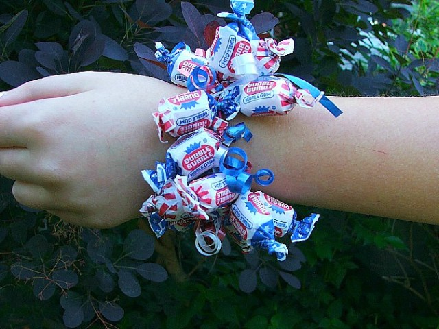 Fourth of July Candy Bracelet - Dubba Bubba