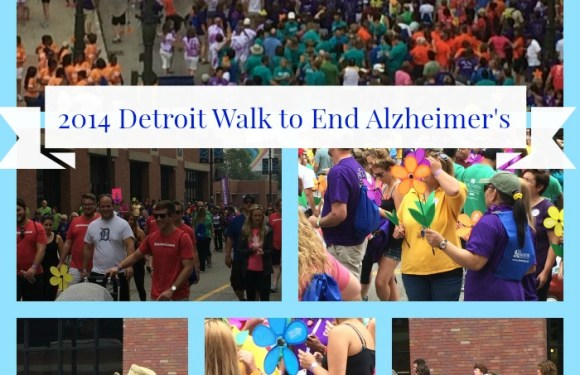 Reflections on the Walk to End Alzheimer's, Detroit 2014
