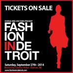 Fashion In Detroit 2014