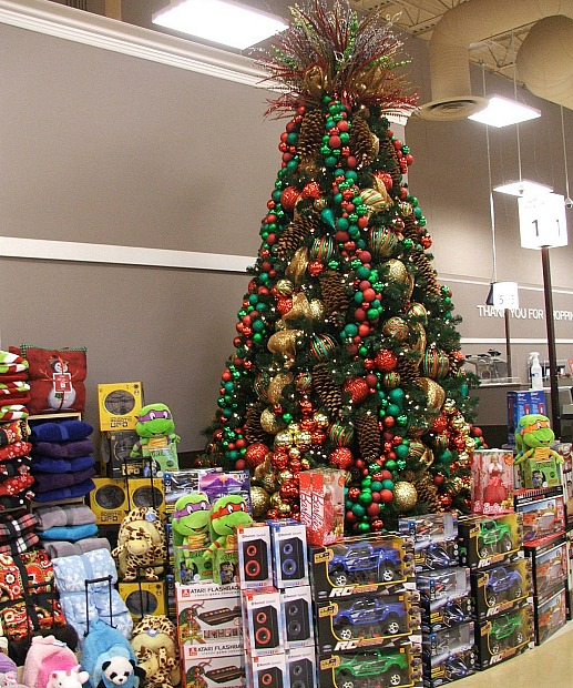 Birminham Kroger Toys and Tree