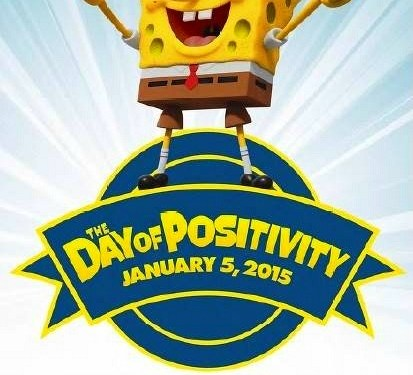 Sponge Bob's Day of Positivity