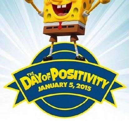Sponge Bob's Day of Positivity