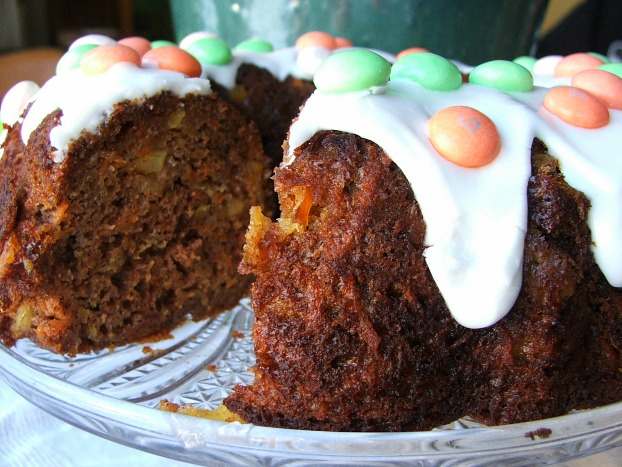 Carrot Cake Up Close