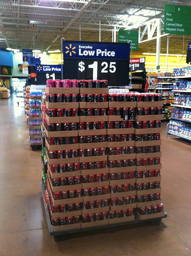 #FinalFourPack Variety Display at Kmart