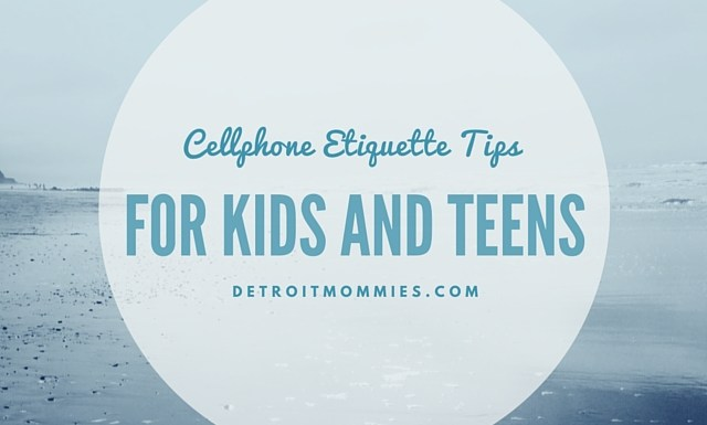 8 Cell Phone Etiquette Tips for Kids and Teens
