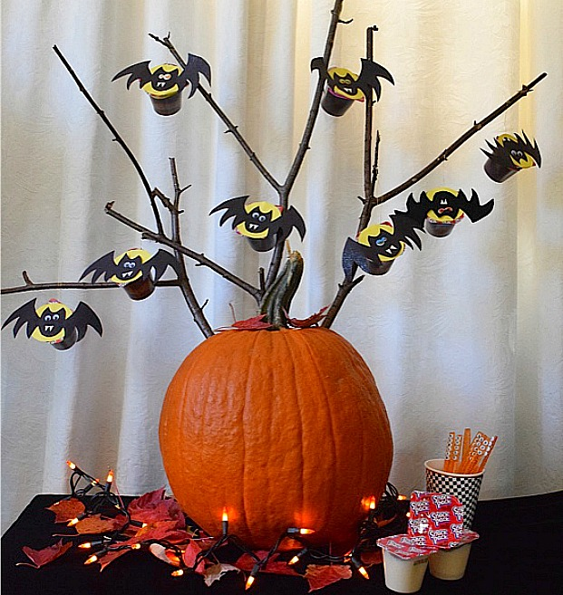 #MixInMonsterMash Pumpkin Bat Tree