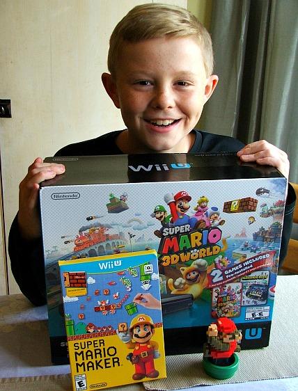 Wii U Mario Game Deluxe Set