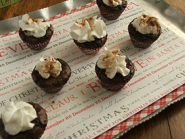 Perfect for Holiday Sharing - Double Chocolate Mocha Brownie Bites