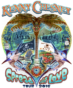 Kenny Chesney Share The Love Tour – Tickets On Sale 11/20