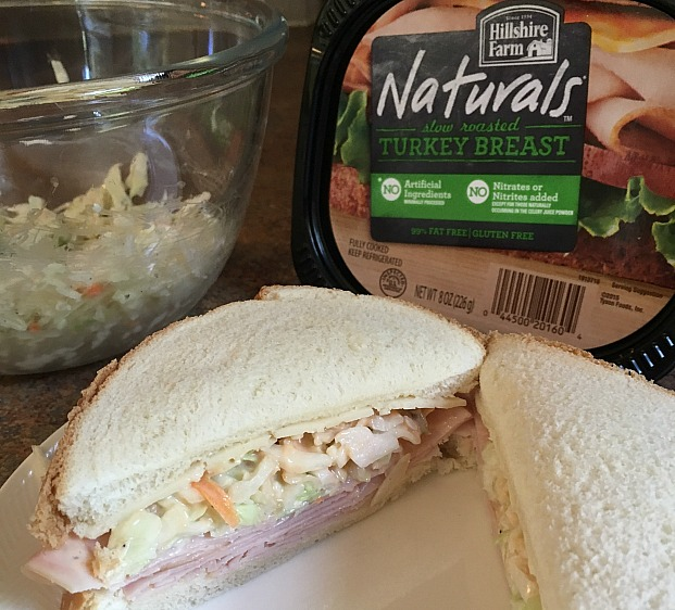 Cheesy Zucchini Sandwich Option