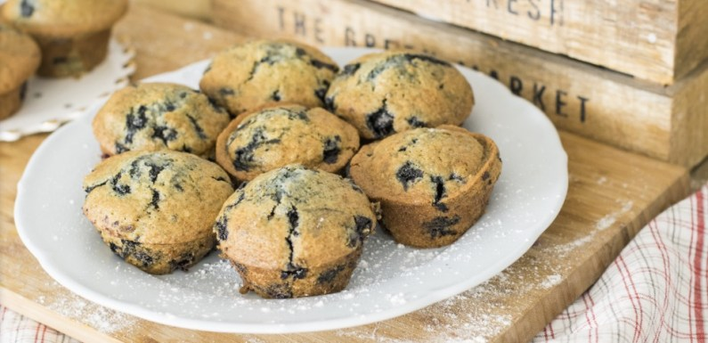 Extra Juicy Blueberry Muffins