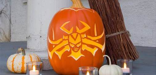 Craft a Spooky Pumpkin Inspired by Hela from Marvel Studios' 'Thor: Ragnarok'