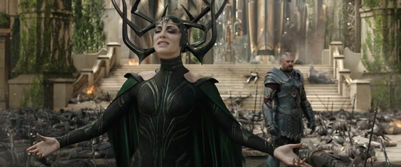 Hela from Marvel Studios' 'Thor: Ragnarok'