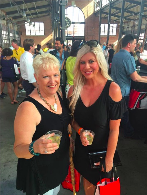 Peggy Bartz with Shannon Lazovski Wearing Prelude from Carson's