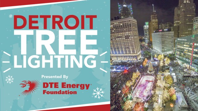 14th Annual Detroit Tree Lighting Ceremony
