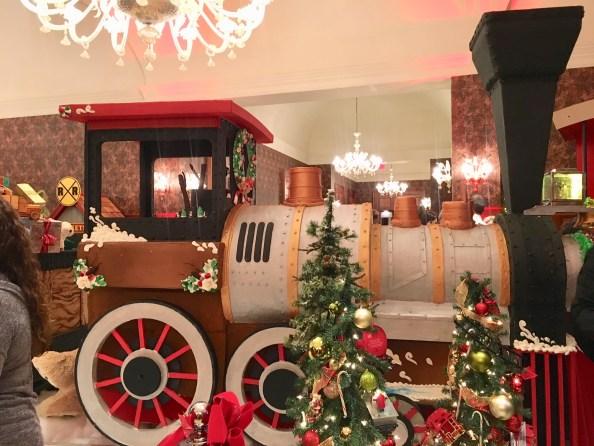 Gingerbread Express at Royal Park Hotel