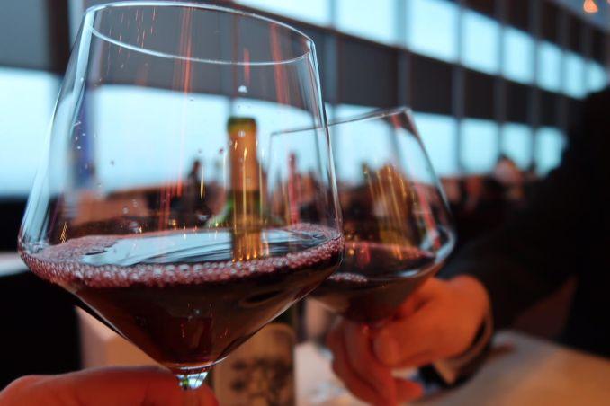Wine Glasses at Iridescence