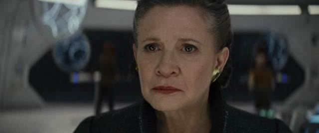 Carrie Fisher Star Wars The Last Jedi