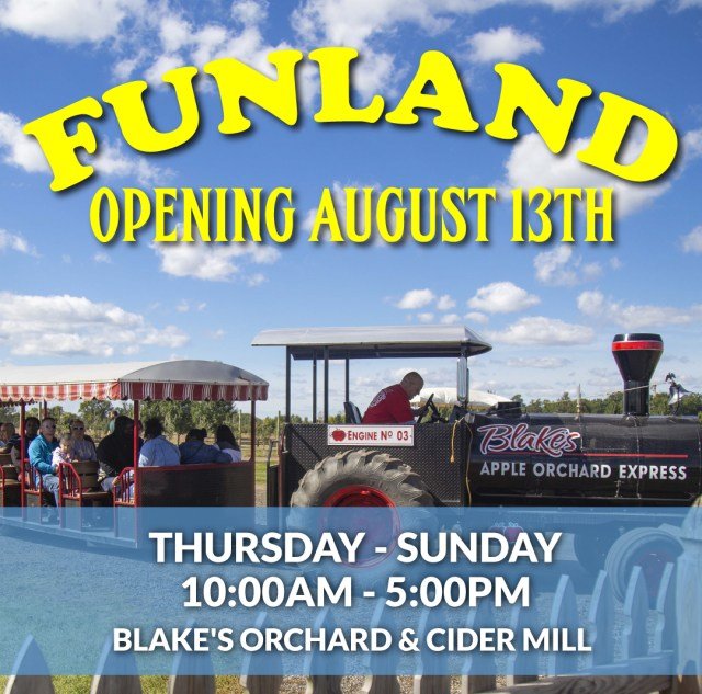 Funland Blake's Orchard & Cider Mill