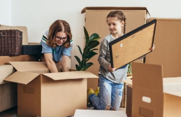 Packing and Moving Tips for Large Families