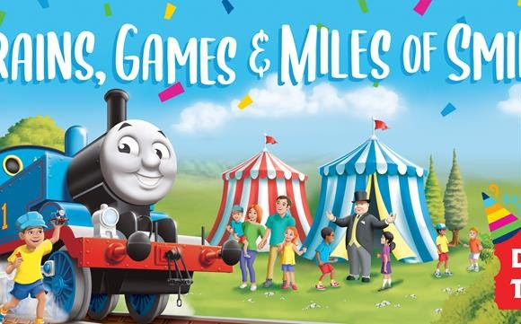 Thomas the Tank Engine Returns to  Crossroads Village