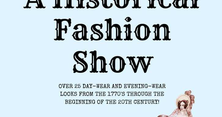 Historical Fashion Show to Support the Restoration of the Governor Warner Mansion