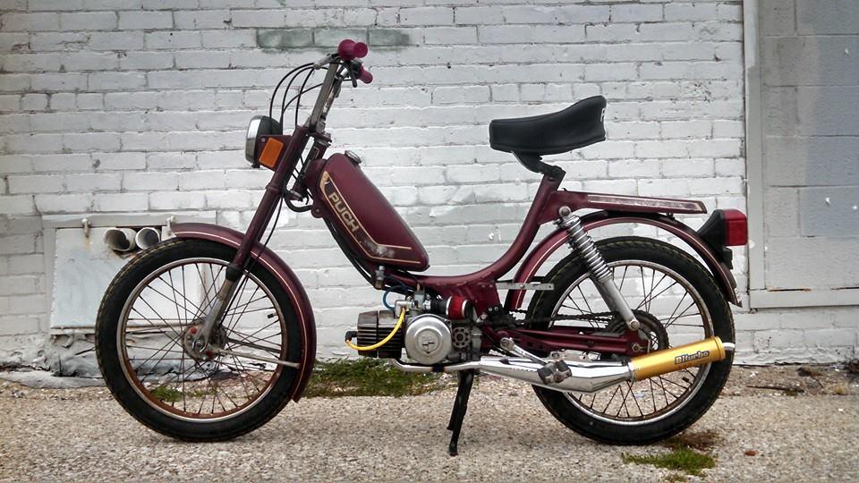 How do mopeds work?