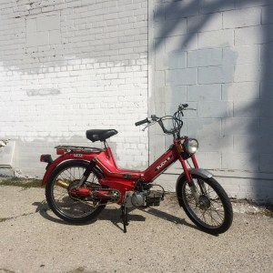 Red Puch Maxi (SOLD)