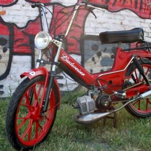 Puch Maxi Sport MKII Budweiser Edition (SOLD)
