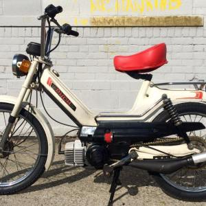White Puch Newport L (SOLD)