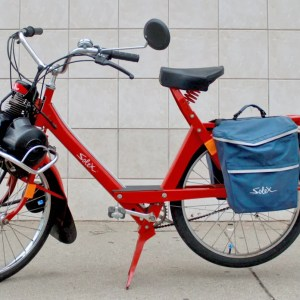 2005 Red VeloSoleX S 3800 With Blue Saddle Bag (SOLD)