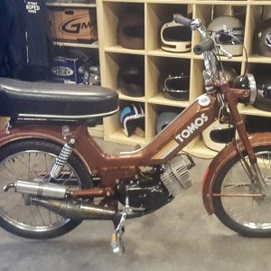 1979 Brown Tomos Bullet with A55 motor (SOLD)
